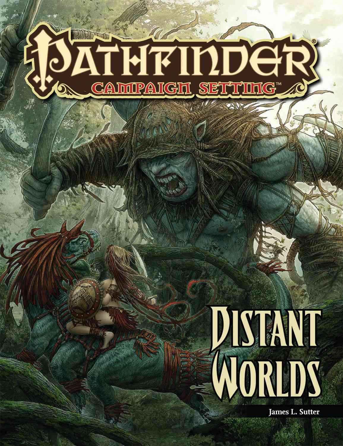 Distant Worlds By Sutter, James L.